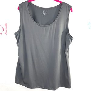 212 Collection XL Tank in basic gray/ career wear